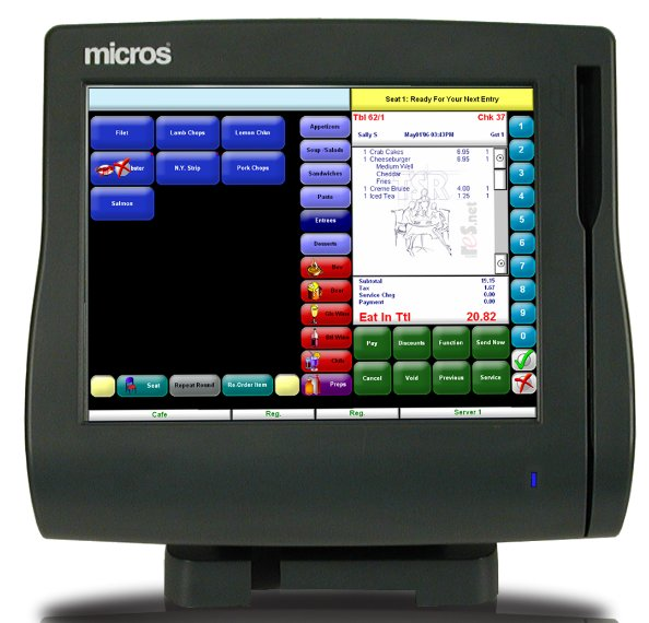 Micros Terminal Specifications